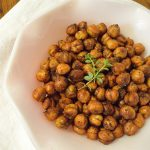 Ital Jerk Chickpea Snack Recipe..oh yummmmm!